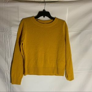 Yellow Divided sweater